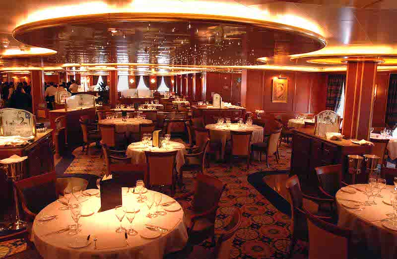 restaurant ruby princess cruises