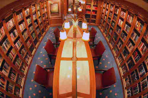 bibliothèque Ruby princess