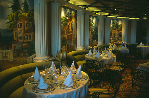 restaurant italien star Princess