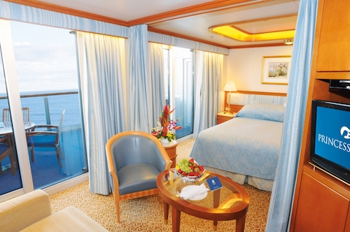 cabine suite star princess