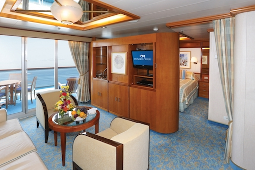 Cabine suite sun princess