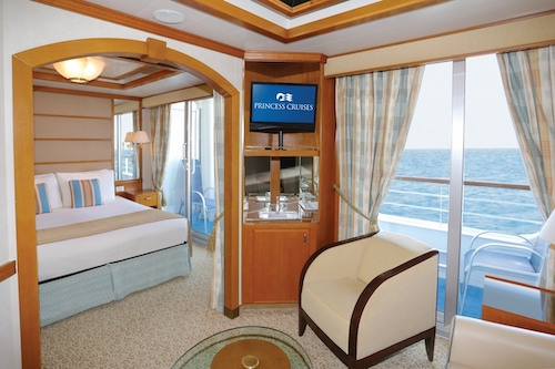 mini suite sea princess
