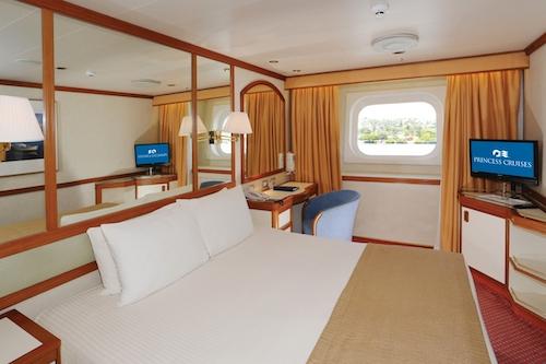 cabine extérieure sea Princess