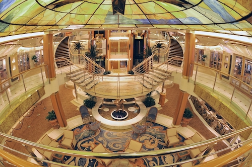 atrium princess cruises