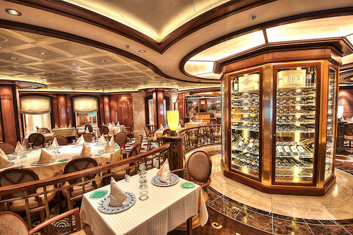 restaurant italien royal princess