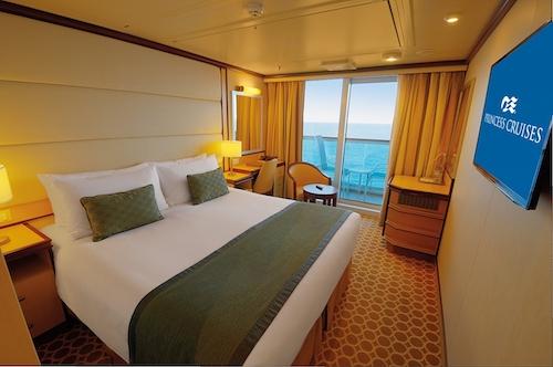 cabine balcon regal princess cruises