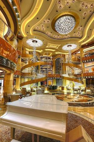 atrium regal princess cruises