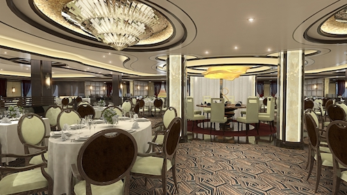 restaurant majestic princess