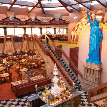 restaurant buffet carnival freedom