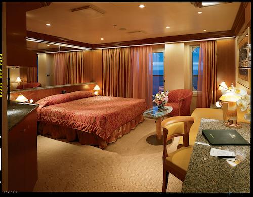 cabine suite carnival conquest