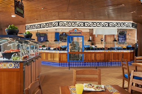 restaurant buffet mexicain carnival sunshine
