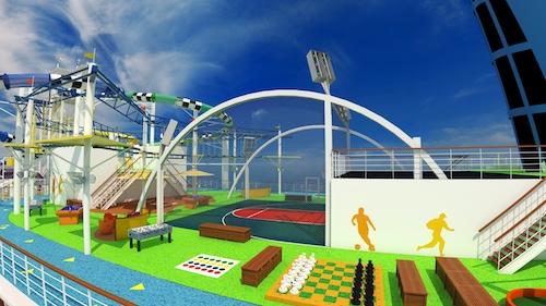 terrains sports et jeux carnival sunshine