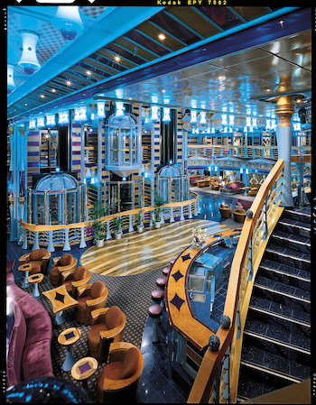 intérieur carnival miracle