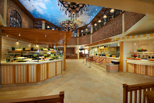 restaurant buffet carnival breeze
