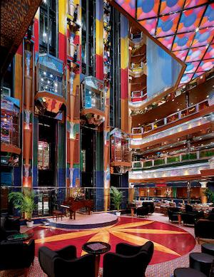 atrium carnival glory