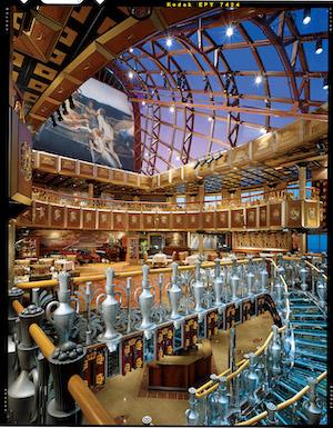 plafond atrium carnival legend