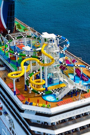 aquapark carnival sunrise