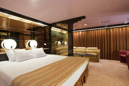 cabine suite carnival paradise