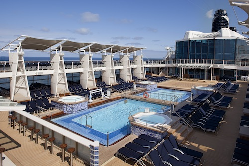 piscines celebrity eclipse