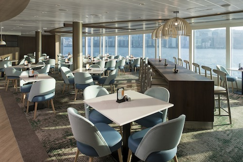 celebrity summit Oceanview cafe