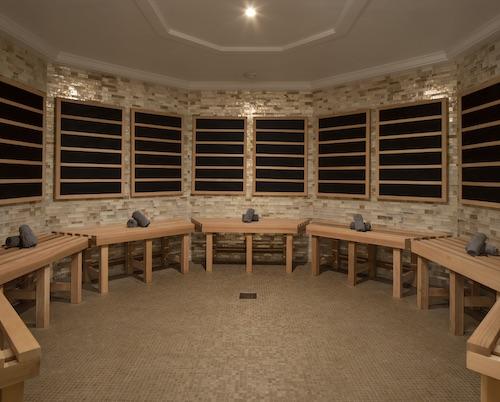 spa sauna celebrity summit