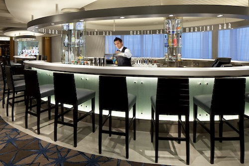 martini bar celebrity infinity
