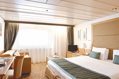 cabine junior suite Pullmantur horizon