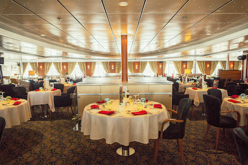 restaurant horizon Pullmantur