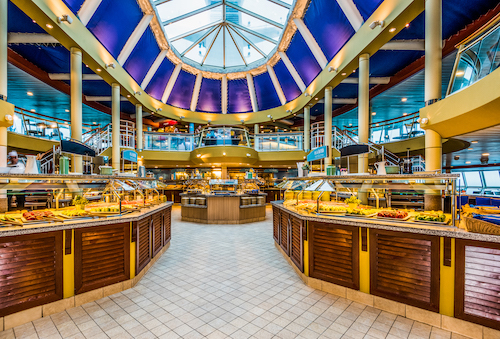 restaurant buffet monarch Pullmantur
