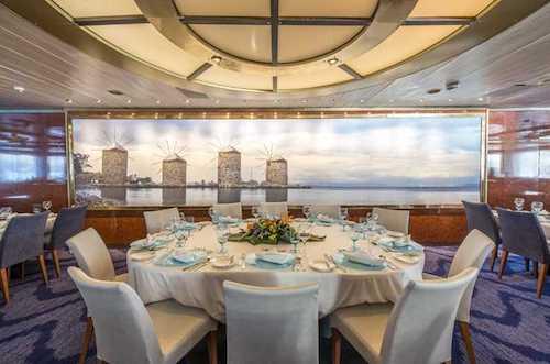 restaurant Aegean celestial olympia