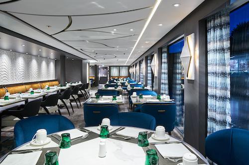 restaurant waterside crystal cruises