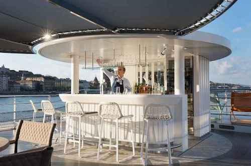 bar extérieur crystal Ravel