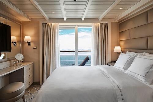 cabine suite silver cloud