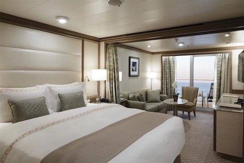 cabine suite silver spirit