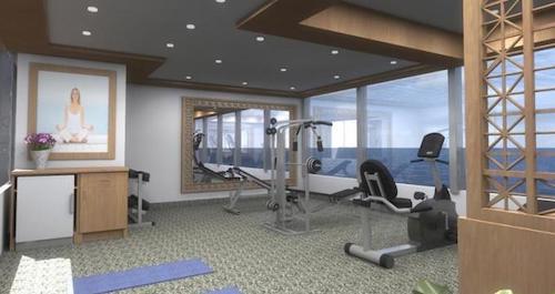 salle de sport silver Galapagos
