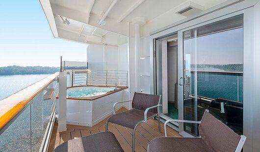 cabine suite MSC Seascape