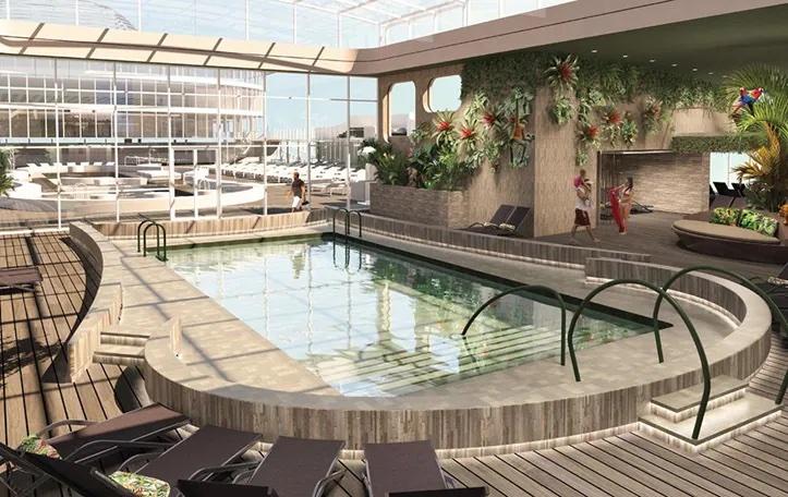 piscine intérieure msc world europa