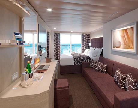 cabine balcon msc world europa