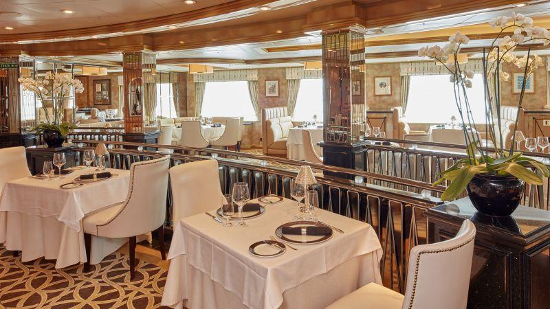restaurant Cunard queen Victoria
