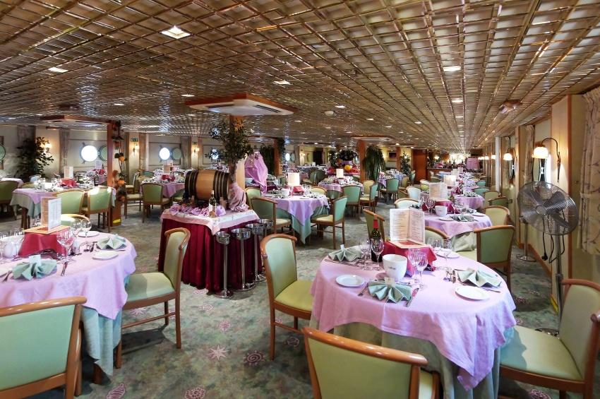 restaurant MS Belle de Cadix