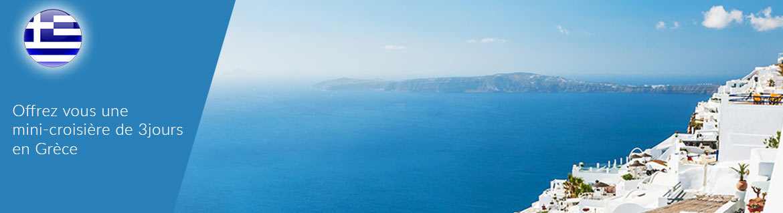 croisiere 4 jours grece