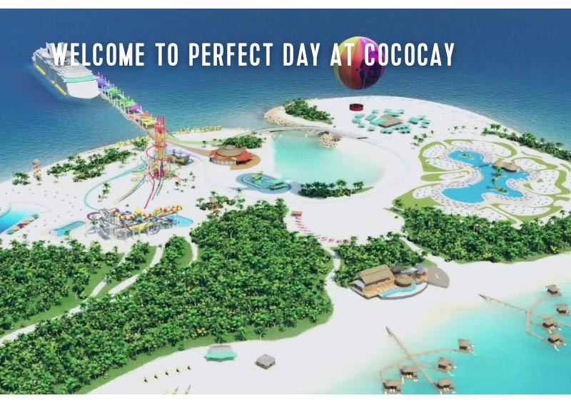 Perfect Day Cococay, Bahamas