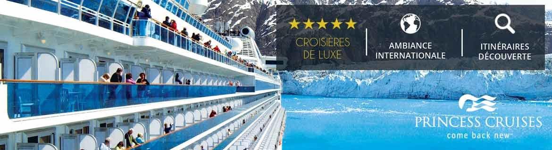 Croisières Princess Cruises: Promotions, infos et réservations