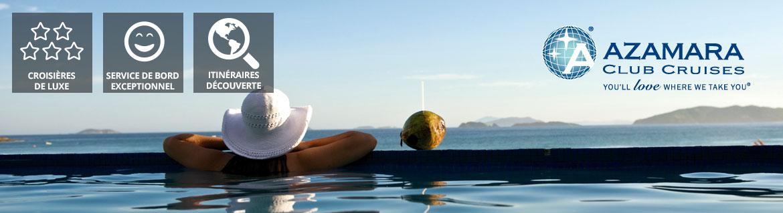 Croisières Azamara Club Cruises: Promotions, infos et réservations