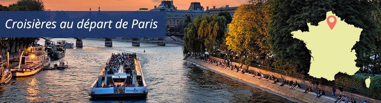 Croisières au départ de Paris