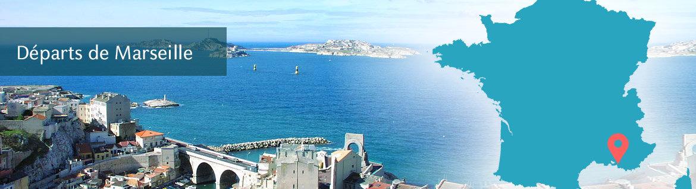 Croisières au départ de Marseille