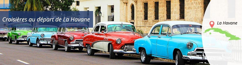 Croisières au départ de La Havane
